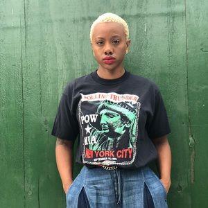 Other - 90s Vintage Pow Mia shirt XL